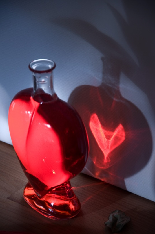 Bottle and light idea