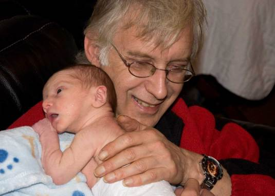 photos to treasure forever. Charlie with grandad